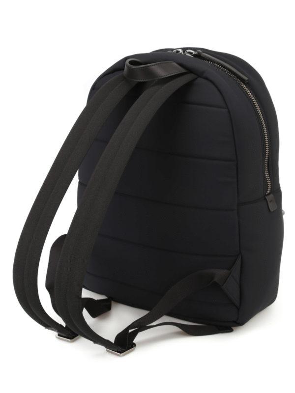 iKRIX MONCLER: backpacks - New George black nylon backpack