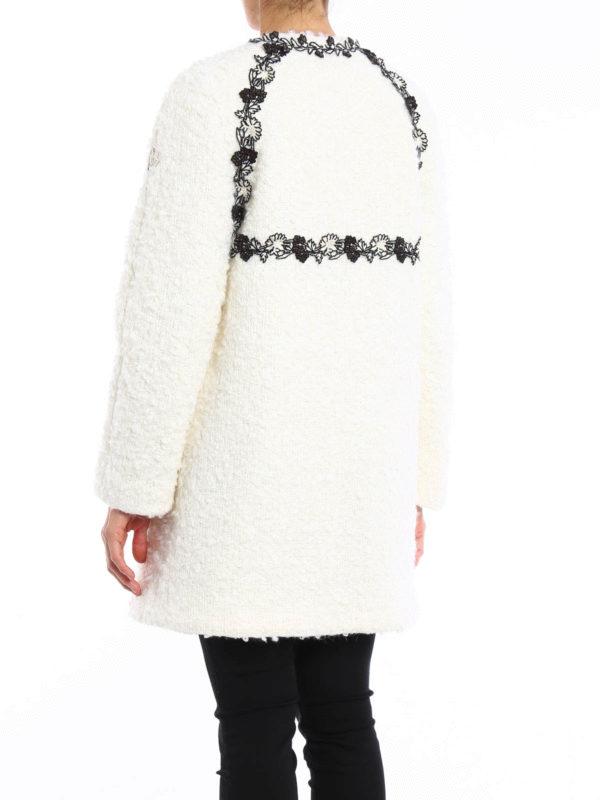 Moncler Cardi-Abrigos blanco