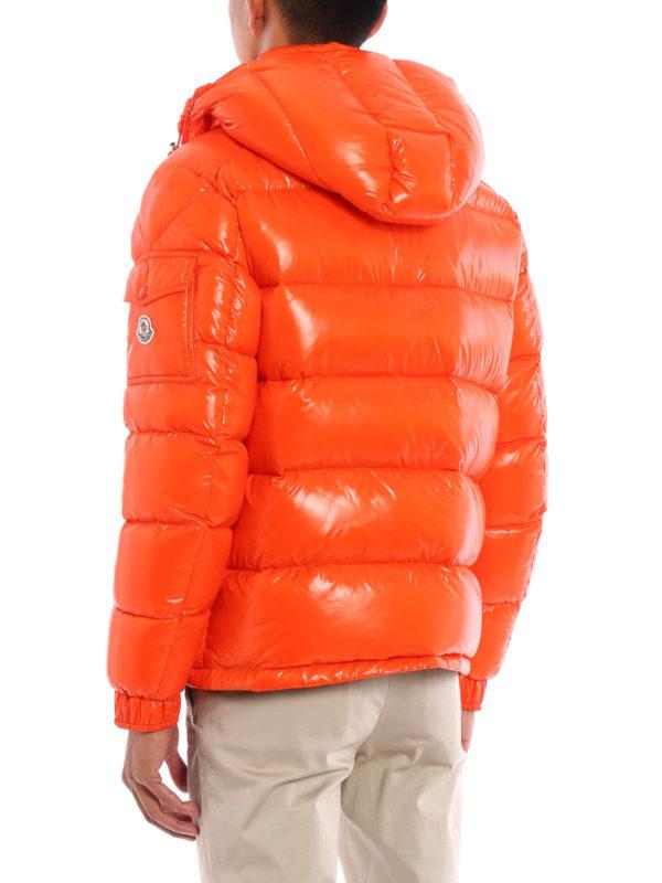moncler maya jacket orange