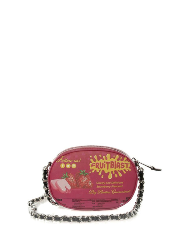 iKRIX MOSCHINO: cross body bags - Printed faux leather crossbody