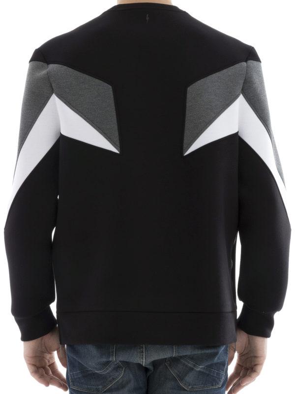 iKRIX Neil Barrett: Sweatshirts und Pullover - Sweatshirt - Schwarz