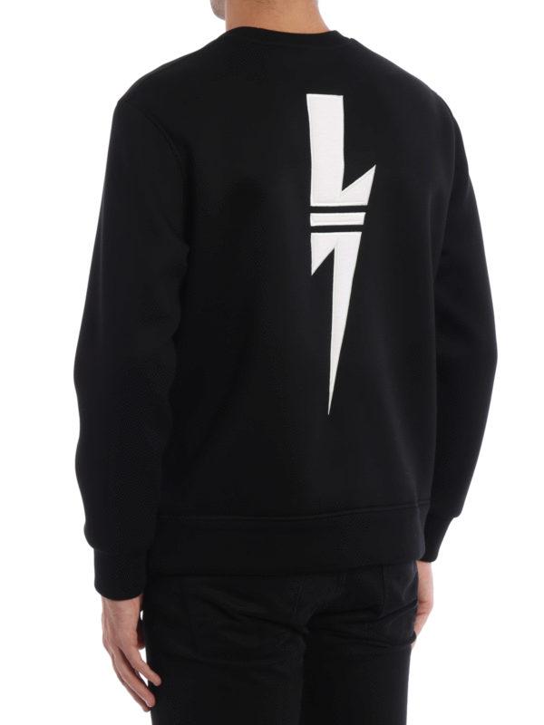 iKRIX Neil Barrett: Sweatshirts und Pullover - Sweatshirt - Slim Fit