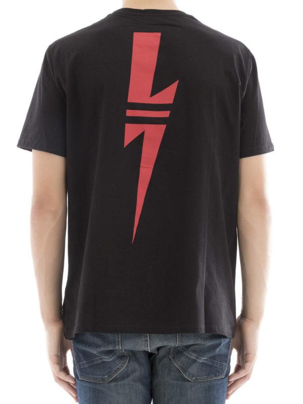 iKRIX NEIL BARRETT: T-shirts - T-Shirt - Schwarz