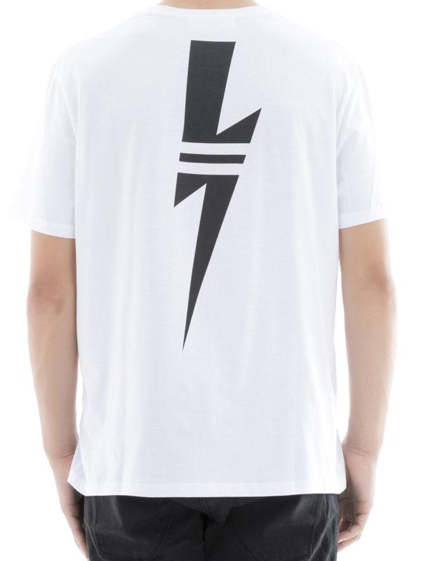iKRIX NEIL BARRETT: T-shirts - T-Shirt - Weiß