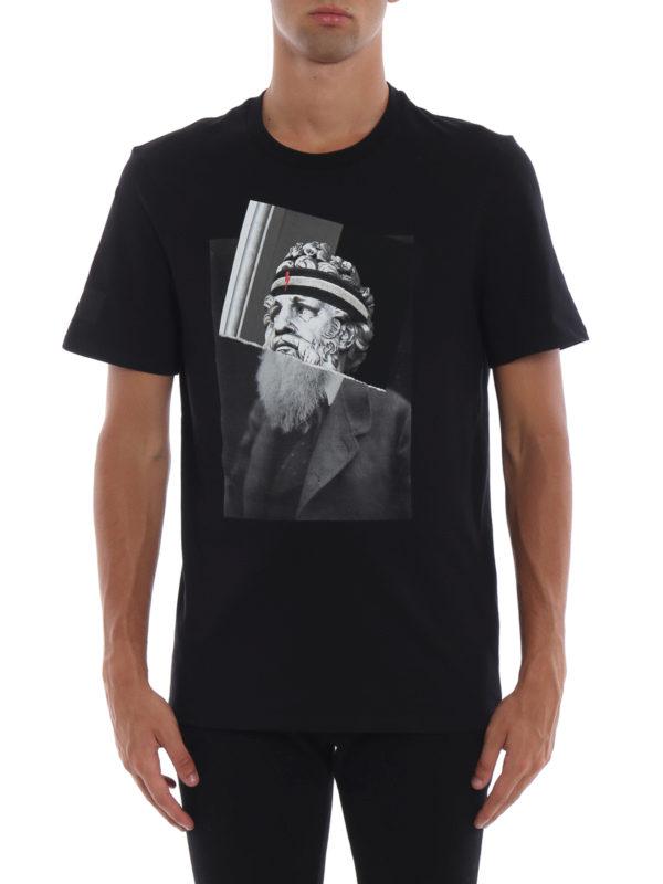 iKRIX NEIL BARRETT: T-shirts - T-Shirt - Slim Fit