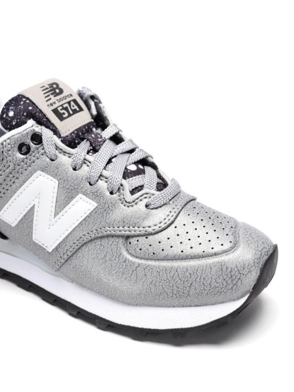 Sneaker Fur Damen - Silber