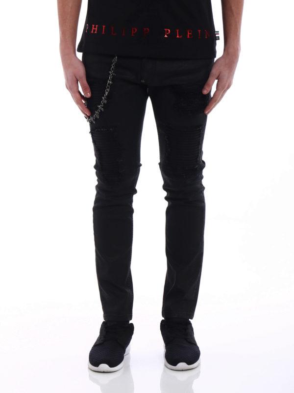 iKRIX PHILIPP PLEIN: Straight Leg Jeans - Straight Leg Jeans - Schwarz