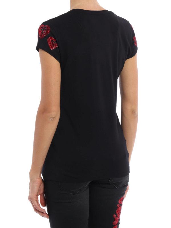 iKRIX Philipp Plein: T-shirts - T-Shirt - Schwarz