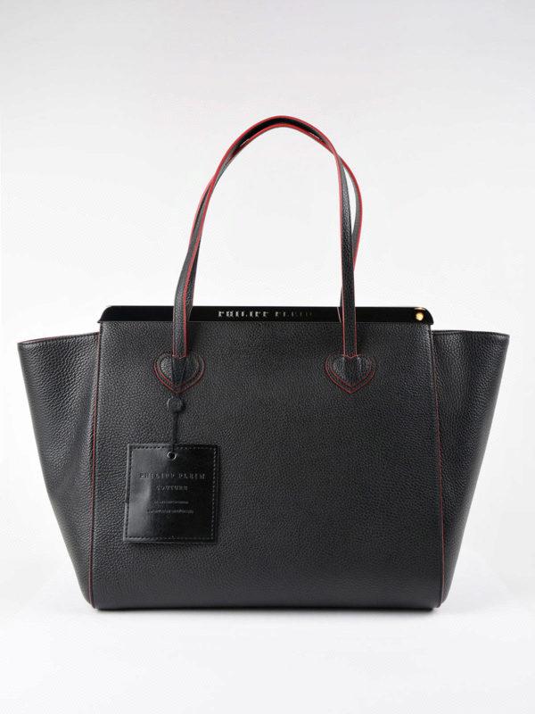 iKRIX PHILIPP PLEIN: Handtaschen - Shopper - Schwarz