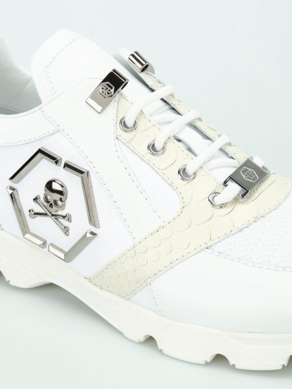 iKRIX Philipp Plein: Sneaker - Sneaker - Weiß