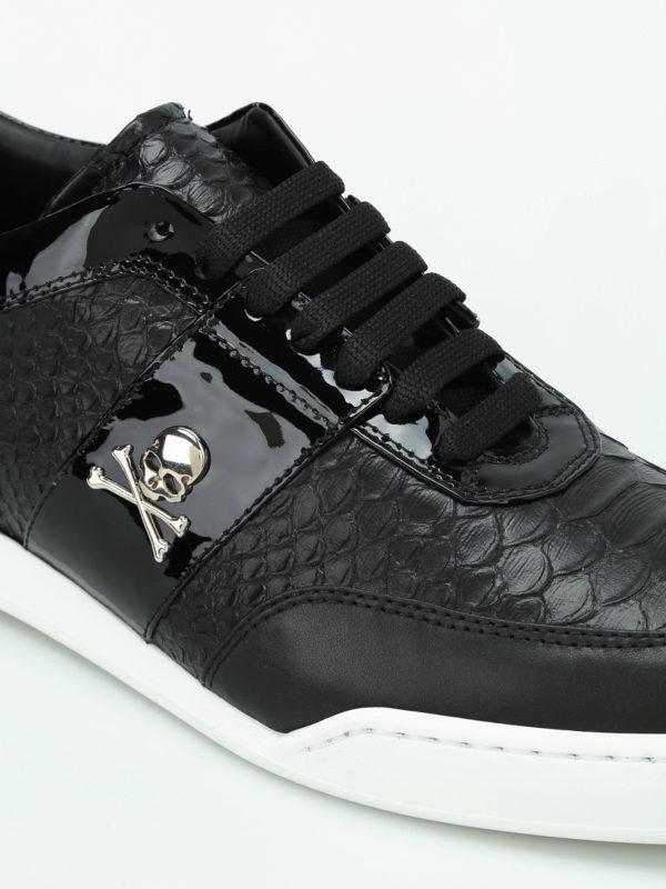 iKRIX Philipp Plein: Sneaker - Sneaker - Schwarz