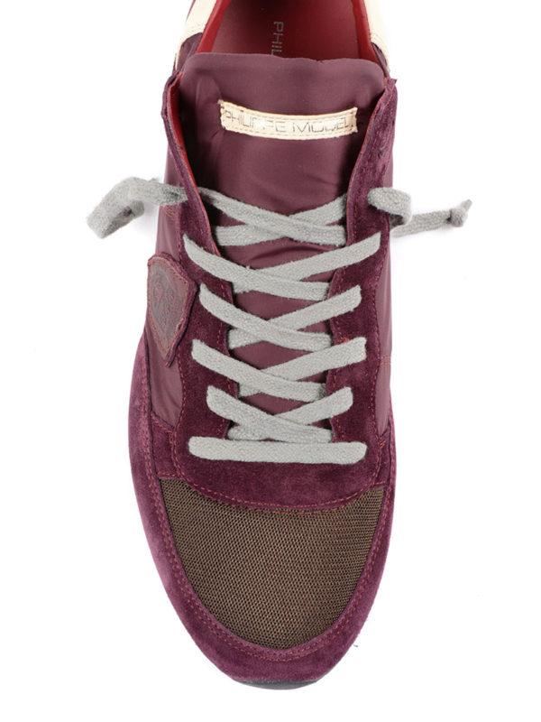 iKRIX PHILIPPE MODEL: Sneaker - Sneaker - Dunkelrot