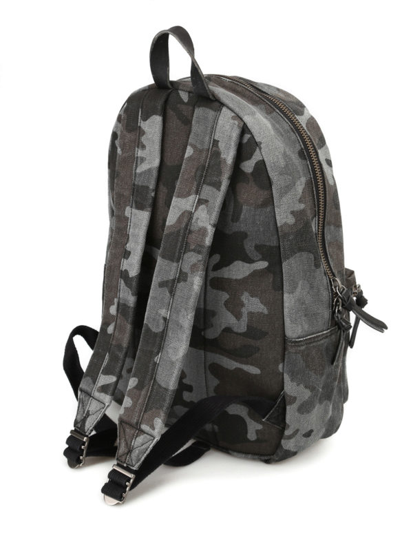 Polo Ralph Lauren - Camu cotton backpack - backpacks - 405688135002 7c0a50c2ff6f2