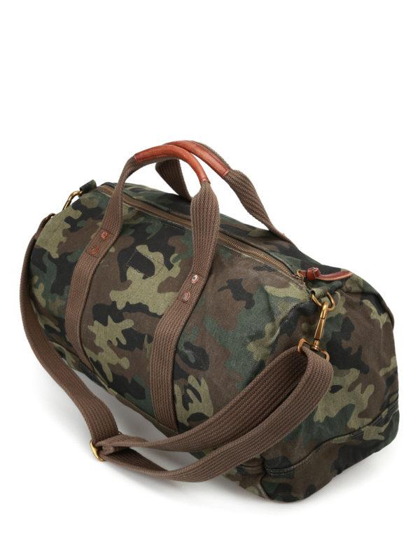 iKRIX POLO RALPH LAUREN: Luggage & Travel bags - Orange logo camu duffle bag