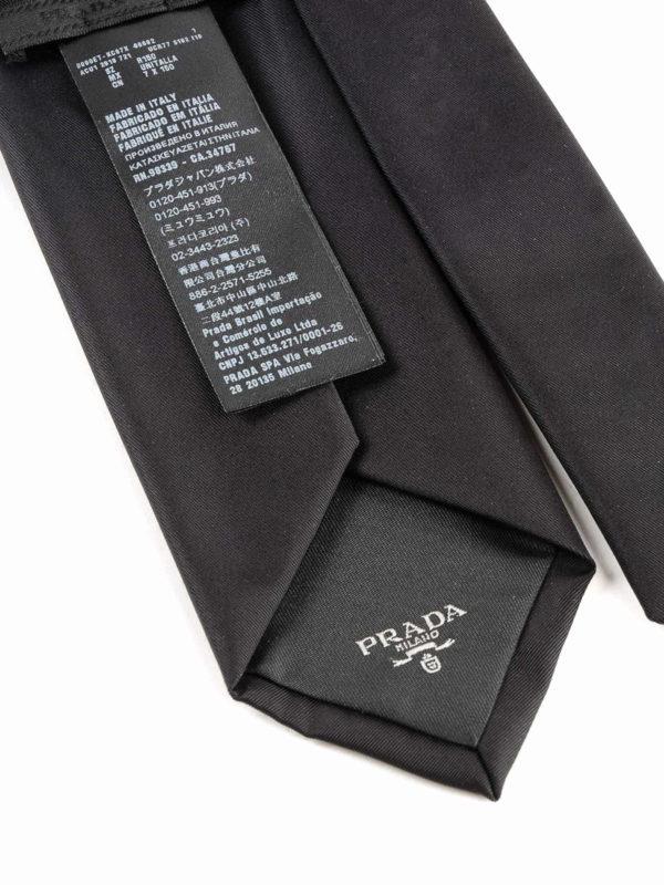 iKRIX PRADA: Krawatten und Fliegen - Krawatte - Schwarz