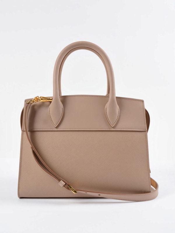 iKRIX Prada: Handtaschen - Shopper - Dunkelbeige