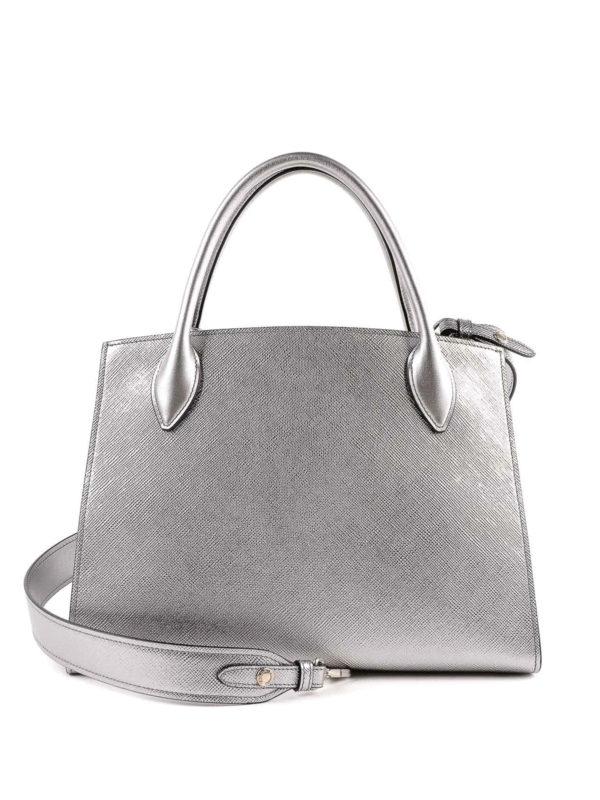 iKRIX PRADA: Handtaschen - Shopper - Silber
