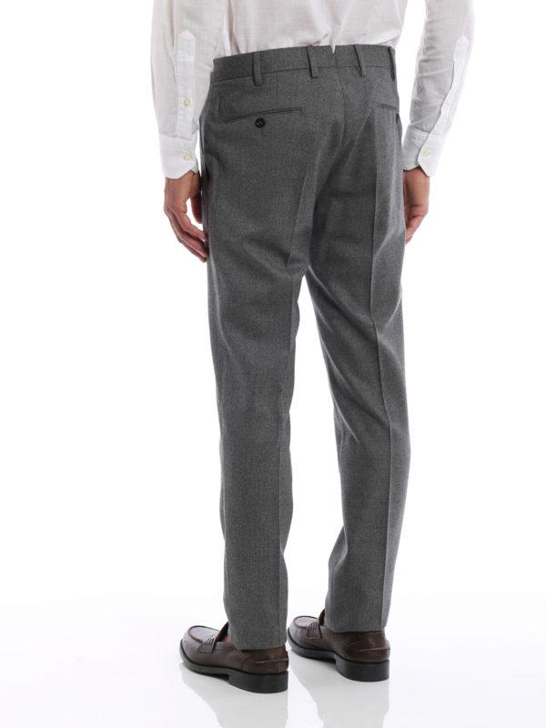 iKRIX Pt 01: Maßgeschneiderte und Formale Hosen - Formale Hose - Grau
