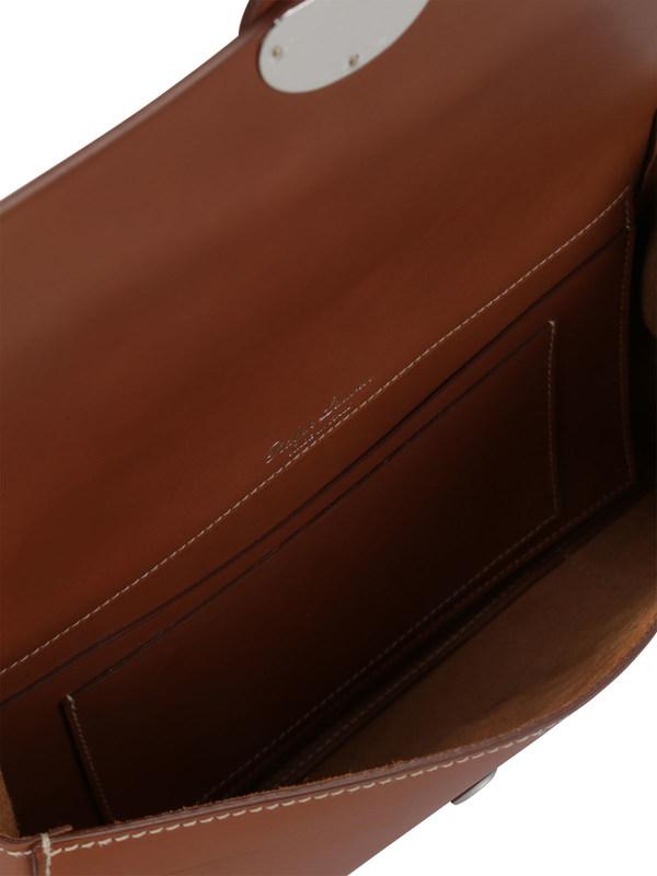 iKRIX Ralph Lauren: Saddle Calfskin Ricky Clutch