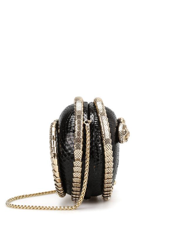iKRIX Roberto Cavalli: clutches - Snake Sphere clutch