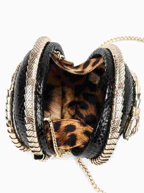 iKRIX Roberto Cavalli: Snake Sphere clutch