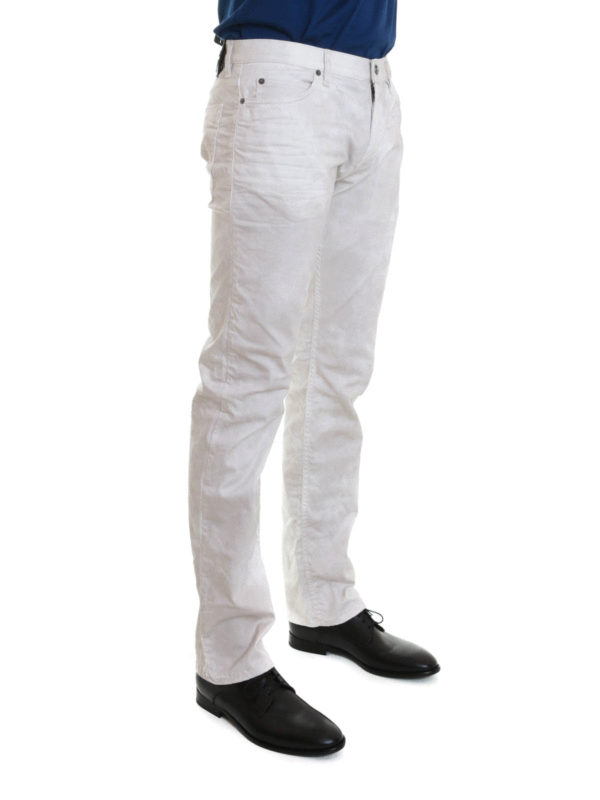 iKRIX ROBERTO CAVALLI: straight leg jeans - Stretch jeans