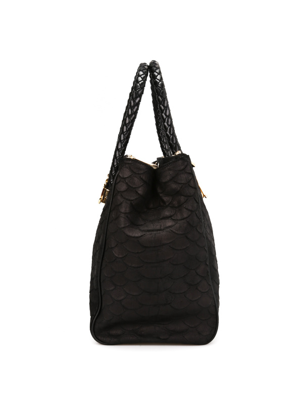 iKRIX Roberto Cavalli: totes bags - Python print leather tote