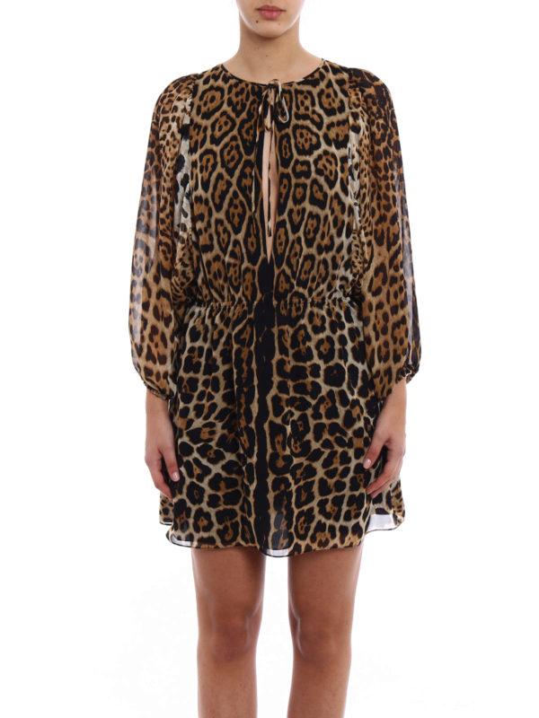 iKRIX Saint Laurent: Kurze Kleider - Kurzes Kleid - Gemustert