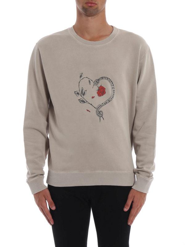 iKRIX SAINT LAURENT: Sweatshirts und Pullover - Sweatshirt - Beige