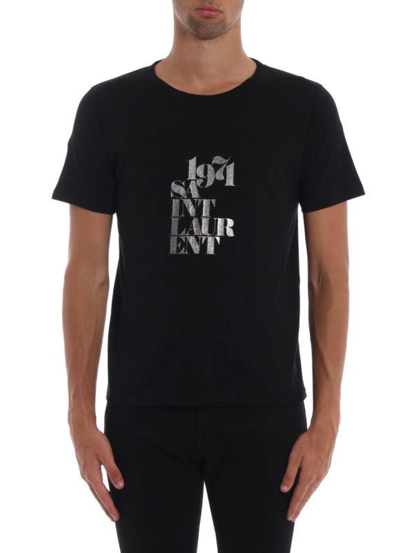 iKRIX SAINT LAURENT: T-shirts - T-Shirt - Schwarz