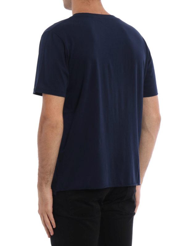 iKRIX Saint Laurent: T-shirts - T-Shirt - Dunkelblau