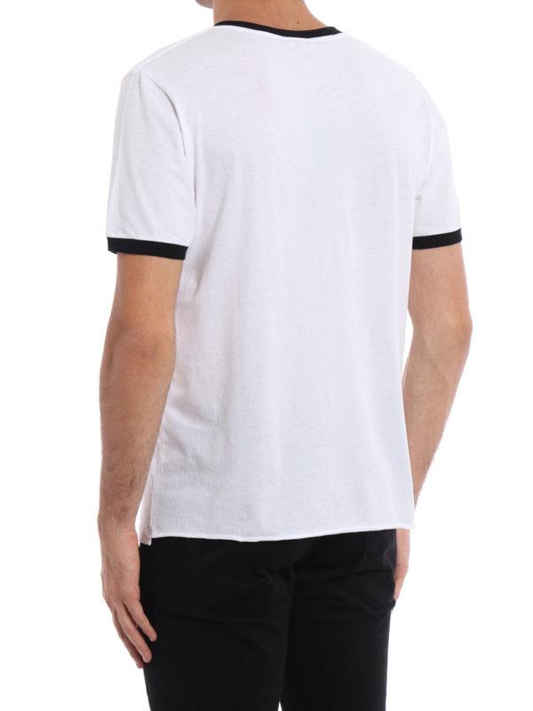 iKRIX Saint Laurent: T-shirts - T-Shirt - Weiß
