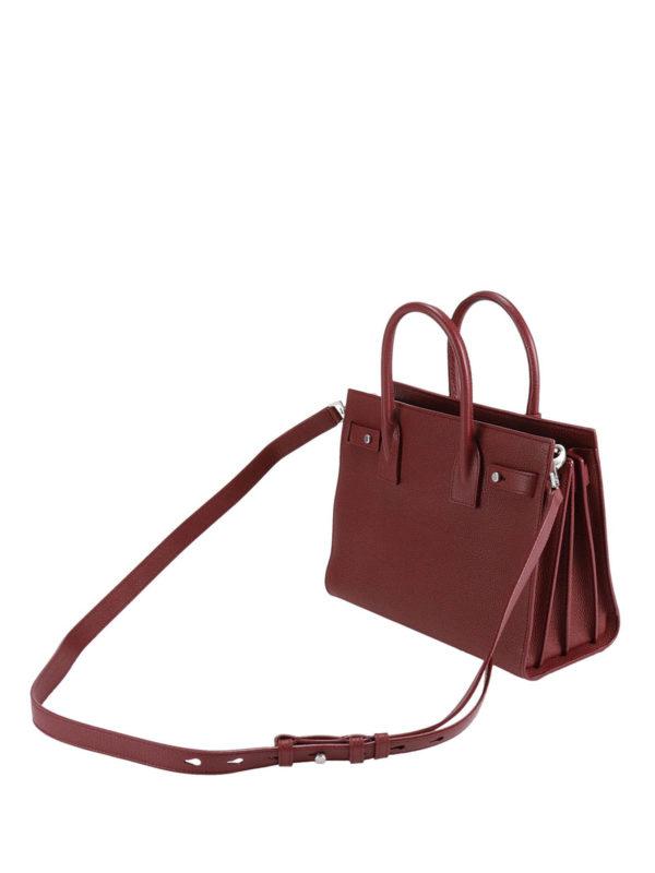 iKRIX Saint Laurent: Handtaschen - Shopper - Dunkelrot