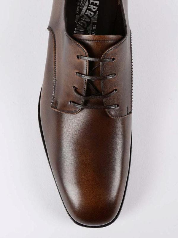 iKRIX SALVATORE FERRAGAMO: Klassische Schuhe - Klassische Schuhe - Dunkelbraun