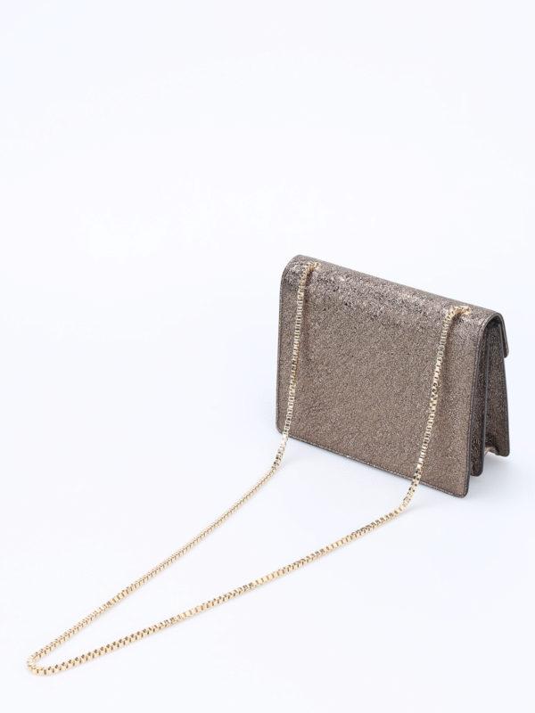 iKRIX SALVATORE FERRAGAMO: Clutches - Clutch - Bronze
