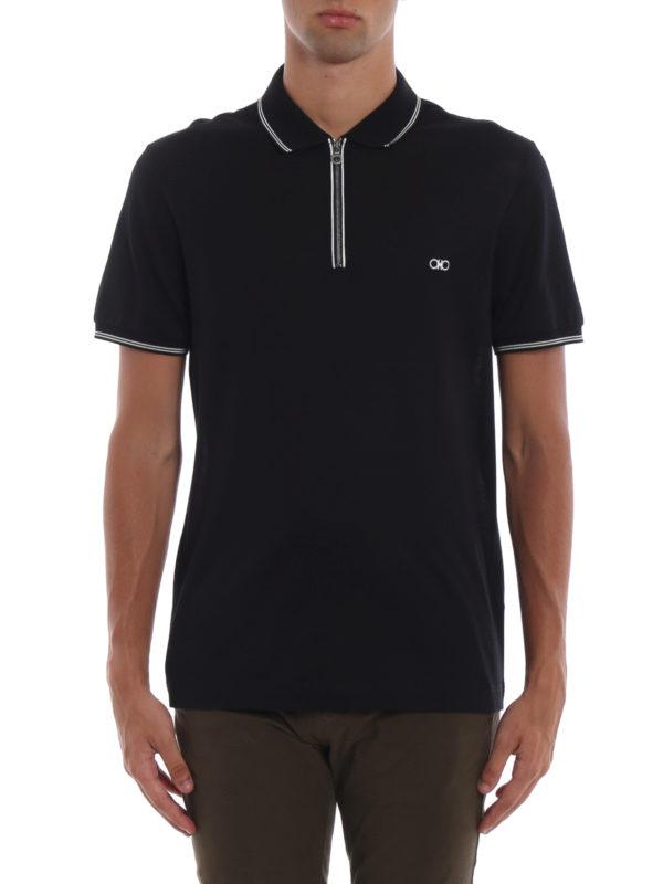 iKRIX SALVATORE FERRAGAMO: Poloshirts - Poloshirt - Dunkelblau