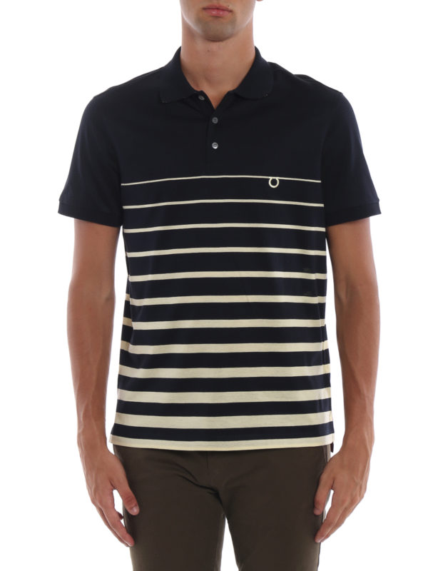 iKRIX SALVATORE FERRAGAMO: Poloshirts - Poloshirt - Gemustert