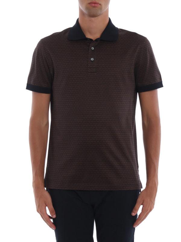 iKRIX SALVATORE FERRAGAMO: Poloshirts - Poloshirt - Braun