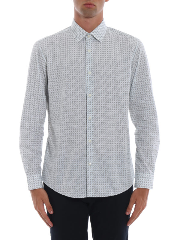 iKRIX SALVATORE FERRAGAMO: Hemden - Hemd - Gemustert