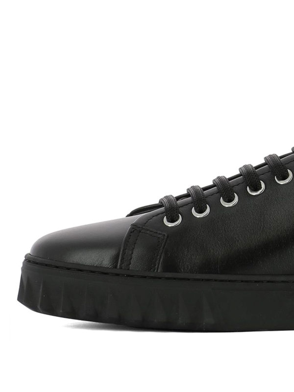 iKRIX SALVATORE FERRAGAMO: trainers - Cube leather sneakers