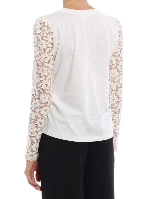 iKRIX See by Chloé: T-shirts - T-Shirt - Weiß