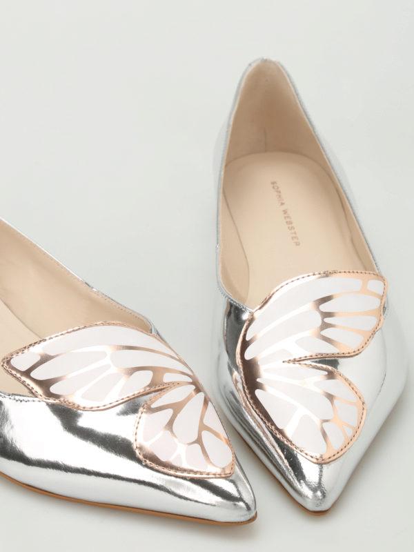 iKRIX Sophia Webster: Ballerinas - Ballerinas - Silber