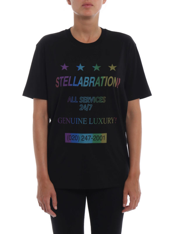 iKRIX STELLA McCARTNEY: T-shirts - T-Shirt - Schwarz