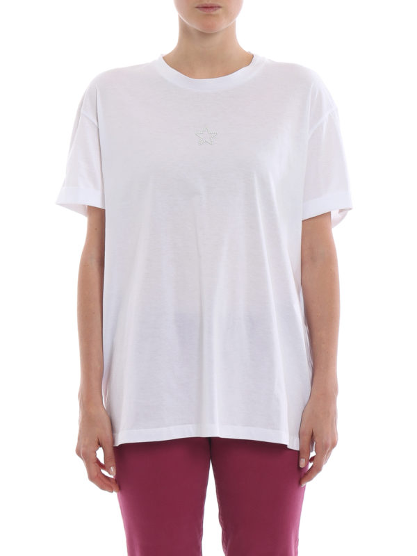 iKRIX STELLA McCARTNEY: T-shirts - T-Shirt - Weiß