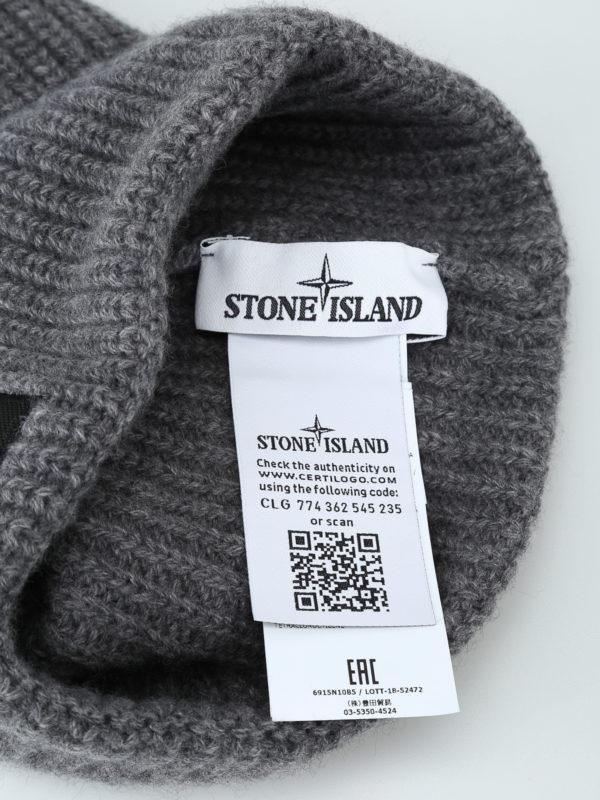 iKRIX STONE ISLAND: Mützen - Mütze - Grau