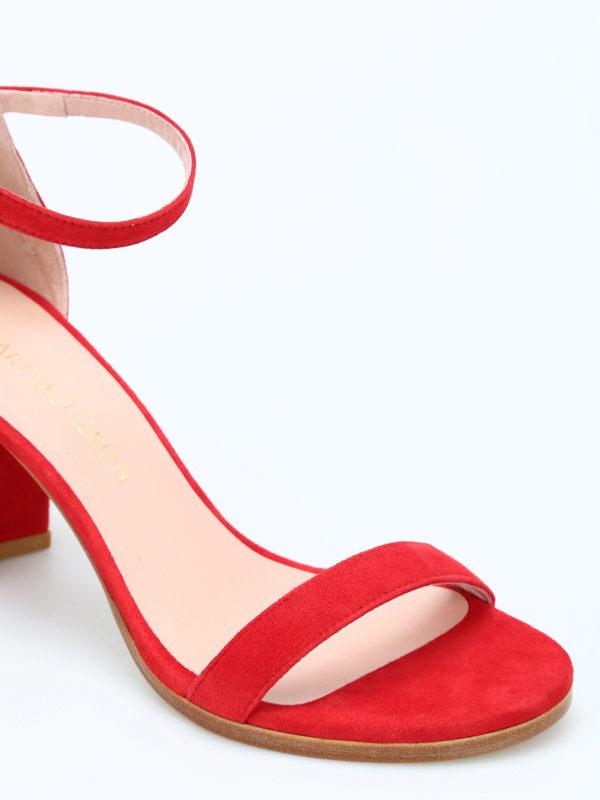 iKRIX Stuart Weitzman: Sandalen - Sandalen - Rot