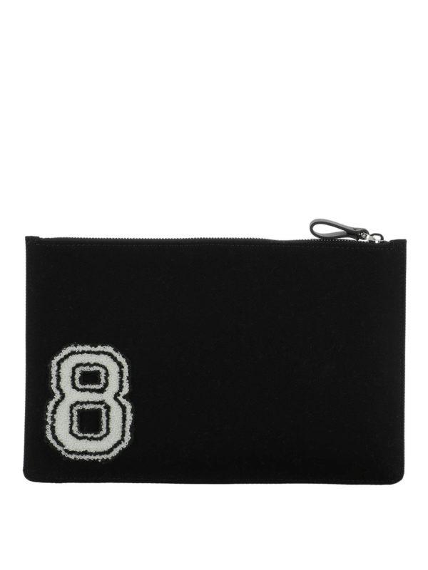 iKRIX VALENTINO GARAVANI: clutches - Logo print clutch