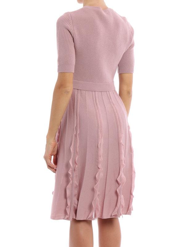 iKRIX Valentino: Knielange Kleider - Knielanges Kleid - Einfarbig
