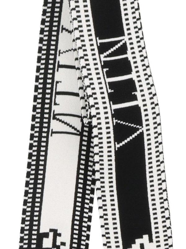 iKRIX VALENTINO: Bufandas y pañuelos - Bufanda - Negro
