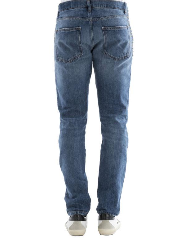 iKRIX Valentino: Straight Leg Jeans - Straight Leg Jeans - Light Wash